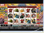 tragaperras gratis Captain America CryptoLogic